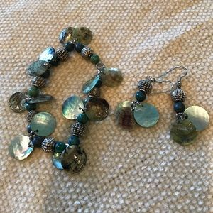 Jewelry - Earring and Bracelet Set